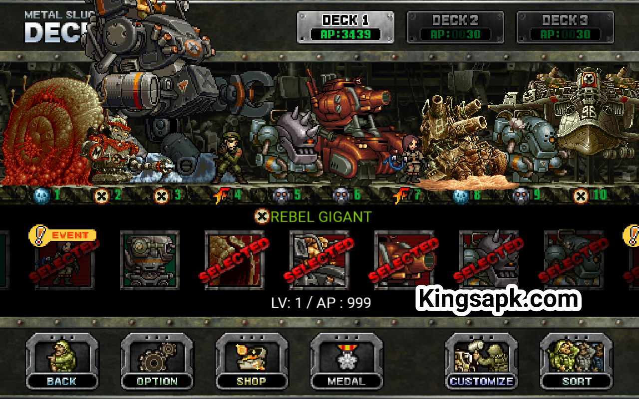 METAL SLUG DEFENSE MOD APK terbaru