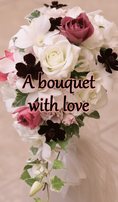 A bouquet with love