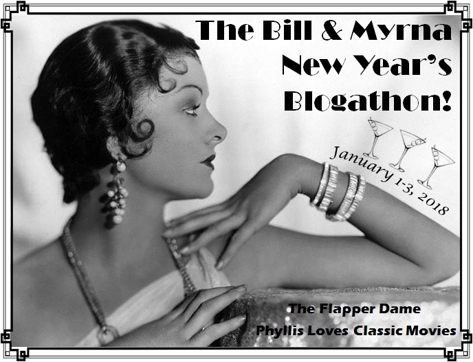 The Bill & Myrna New Year's Blogathon