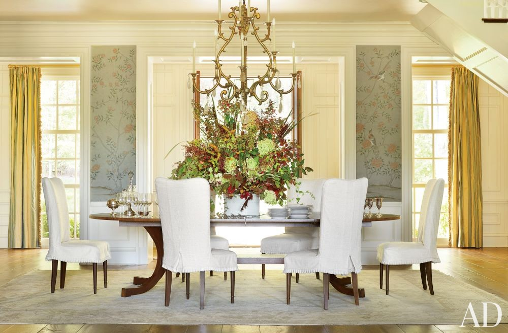 traditional dining room suzanne kasler interiors walland tennessee