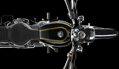 Royal Enfield Bullet 350 overhead image