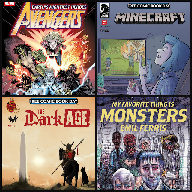 2019 free comic book dady comics