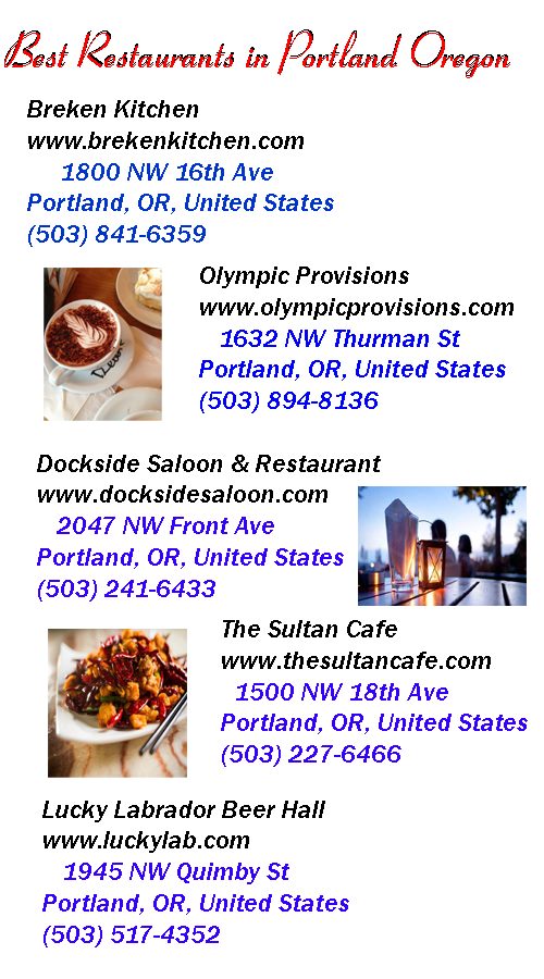 best restaurants in portland oregon