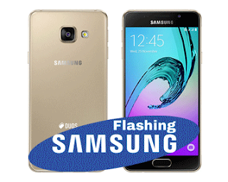 Cara Mudah Flashing samsung Galaxy A3 2016 SM-A310F