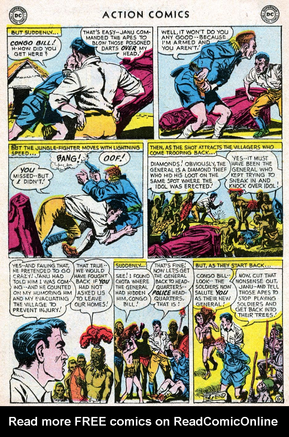 Read online Action Comics (1938) comic -  Issue #219 - 22