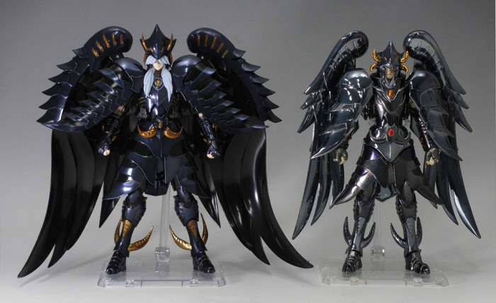 Akihabara Station   Noticias y reviews manga anime cmic figuras videojuegos Figuras Comparativa entre Myth Cloth EX