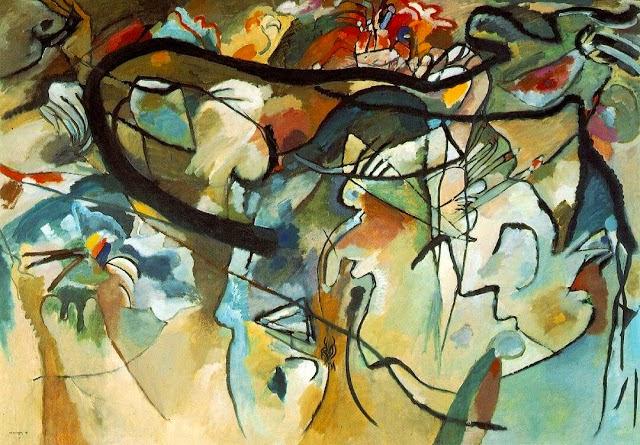 Composição V - Kandinsky e suas pinturas | O pioneiro da arte abstrata