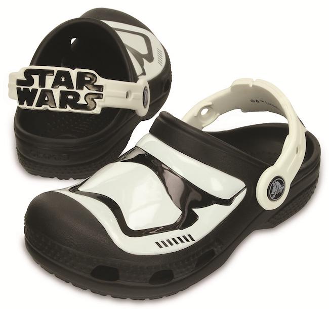 Crocs lança modelo Stormtrooper, da saga Star Wars, e também versão inédita da Hello Kitty