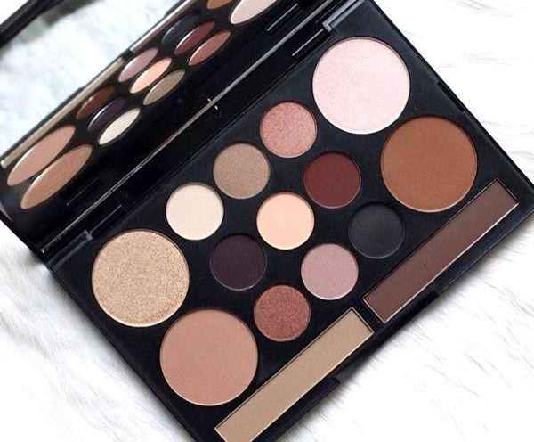 Blog beauté : Palette Love Contours All, NYX Professional Make-up (Instagram)