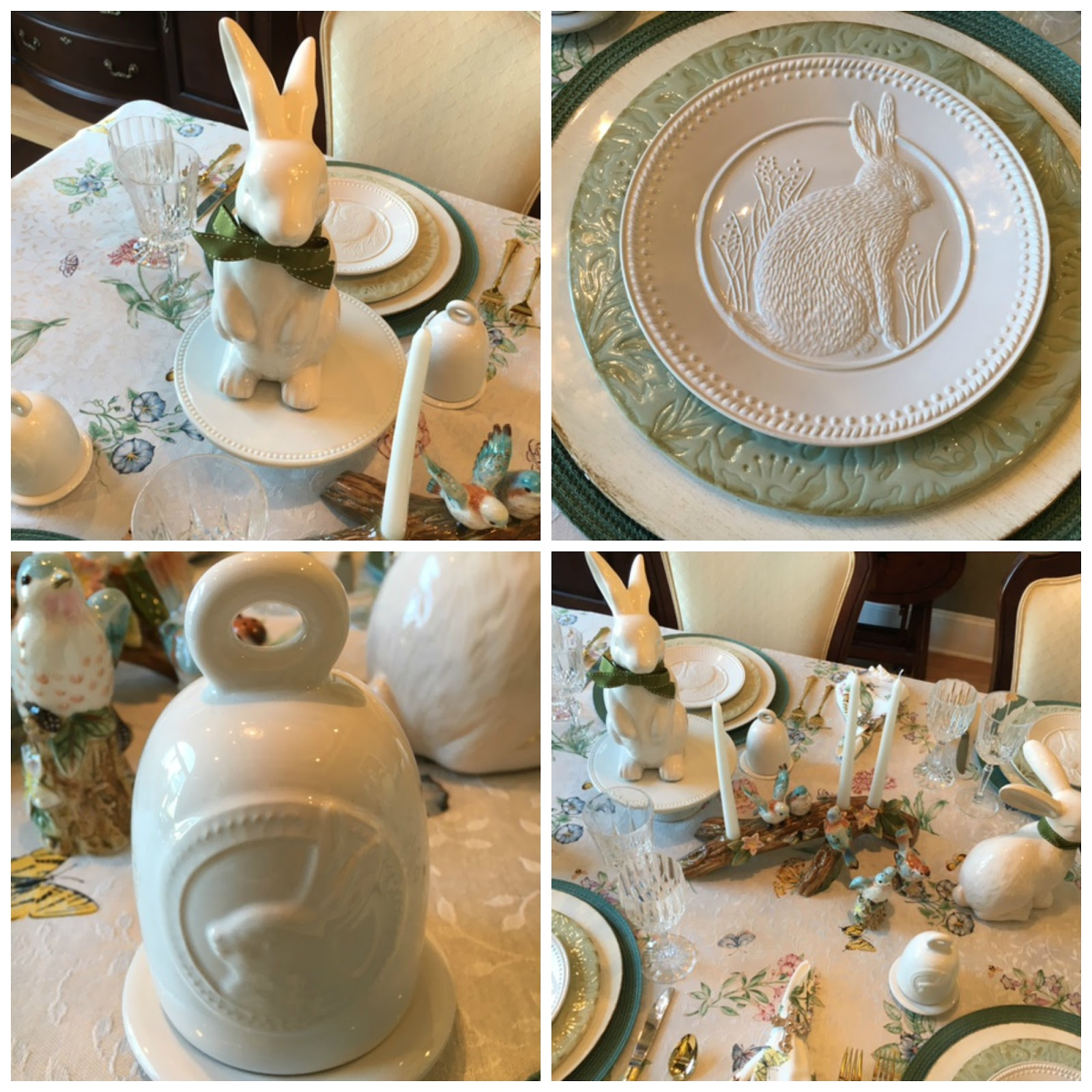 Jo On Legacy Lane Easter Tablescape And Decor