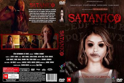 Filme Satânico (Satanic) DVD Capa