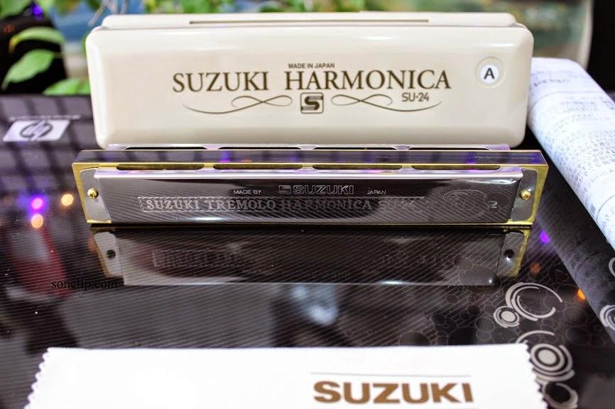 Tự hoc kèn Harmonica 24 lỗ Online - Bai 1, 2, 3, 4