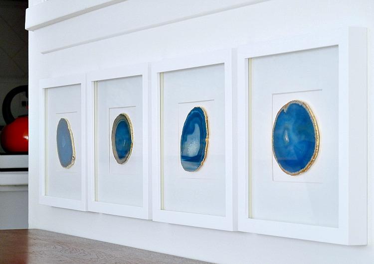 diy agate art framed blue agate slices dans le lakehouse.htm townhouse tour dans le lakehouse  townhouse tour dans le lakehouse