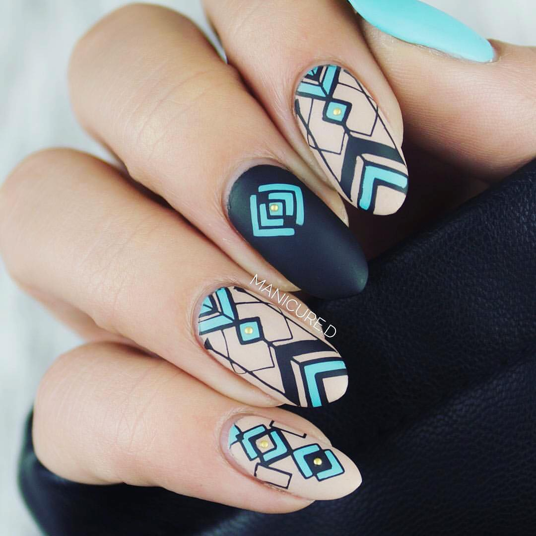 Born Pretty Store Blog: A Series of Elegant Stamping Art Nails ...