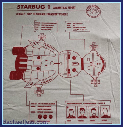 My Geek Box - Red Dwarf Starbug T-Shirt