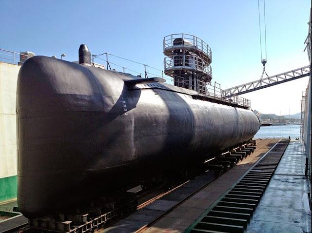 """El Gobierno destina 43 millones a la gran carena del submarino S-71 """"Galerna"""""""