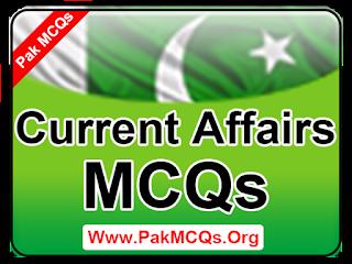 current affairs mcqs, world current affairs mcqs