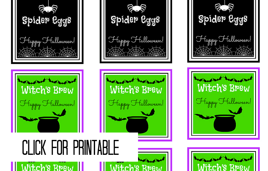 #CelebrationSpookyTreats FREE Printables #AD