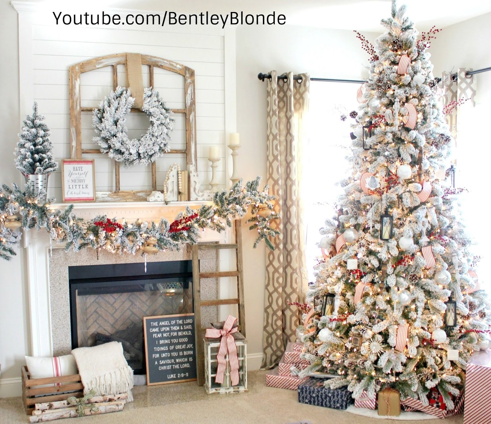 BentleyBlonde: Christmas 2018 Home Decor Trends | BentleyBlonde