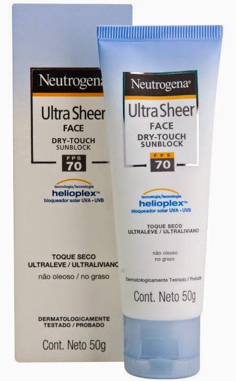 Protetor solar neutrogema fator 70 imagem produto