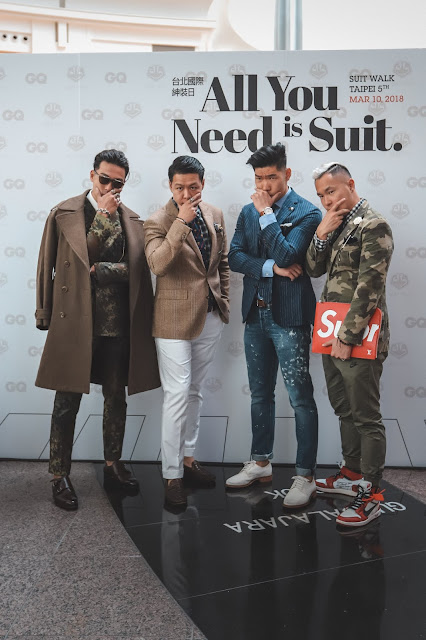 Leo Chan of Levitate Style at GQ Taiwan Suit Walk 台北國際紳仕週