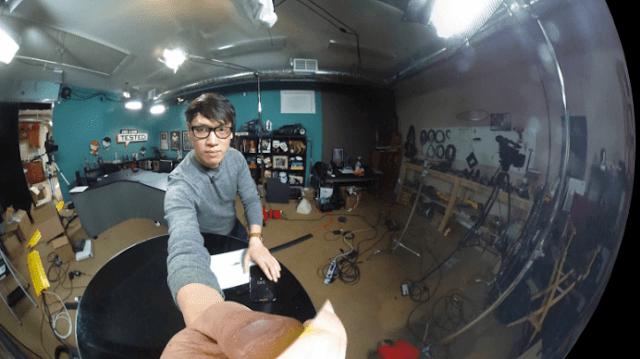 hasil kamera 360 derajat