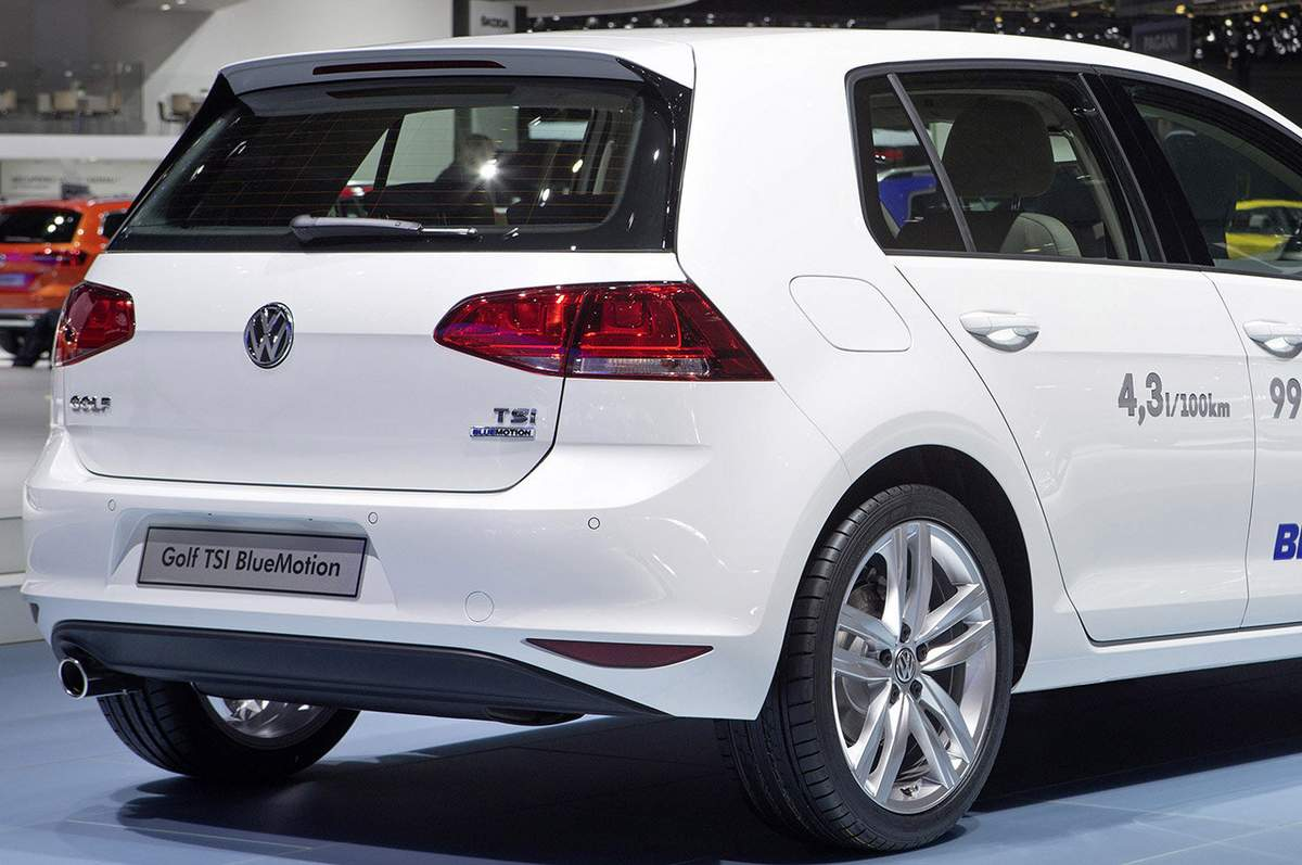 Volkswagen Golf 2015 1.0 TSI Bluemotion
