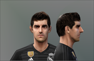 PES 6 Faces Thibaut Courtois by Don_rxf