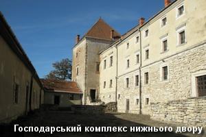 Нижній господарський двір замку