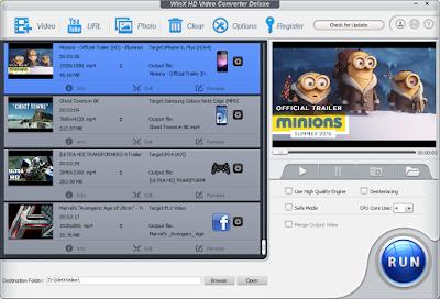 WinX HD Video Converter Deluxe 5.12.0.294  Free Download