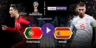 الهاترك الاول فى المونديال من نصيب رونالدو . متعة كروية البرتغال واسبانيا 3-3 كأس العالم روسيا 2018