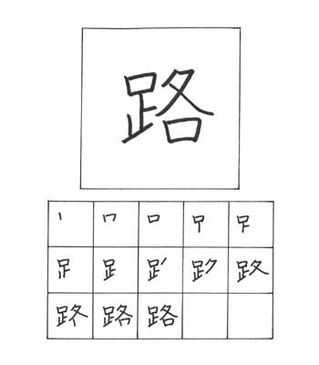 kanji jalanan