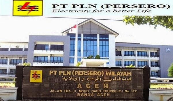 PT PLN (PERSERO) : SELEKSI CALON PEGAWAI KEJURUAN - BUMN, KOTA BANDA ACEH