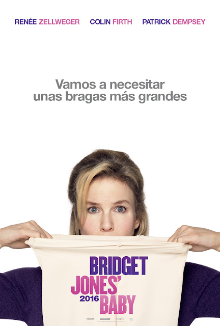 Teaser póster español de 'Bridget Jones' Baby'