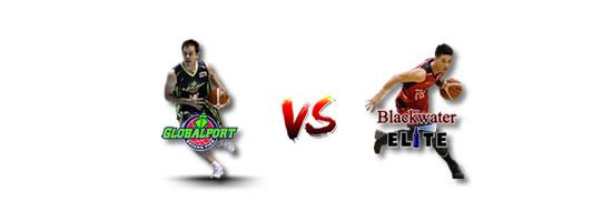 May 2: GlobalPort vs Blackwater, 4:30pm Ynares Center Antipolo