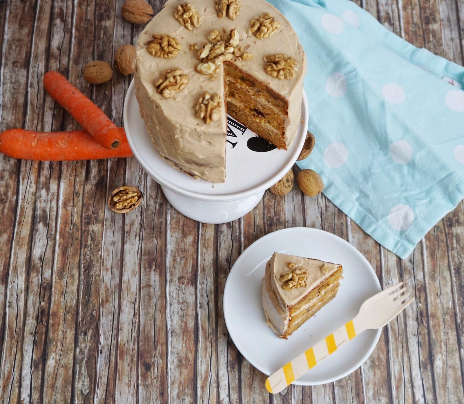 Bananen Karotten Kuchen Mit Chaifrosting Victoria S Little Secrets