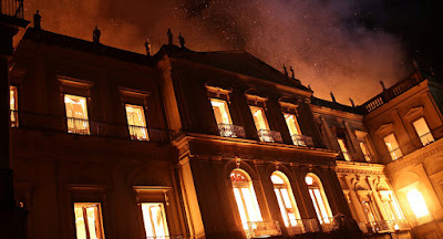 Incêndio no Museu Nacional - Blogo do Asno
