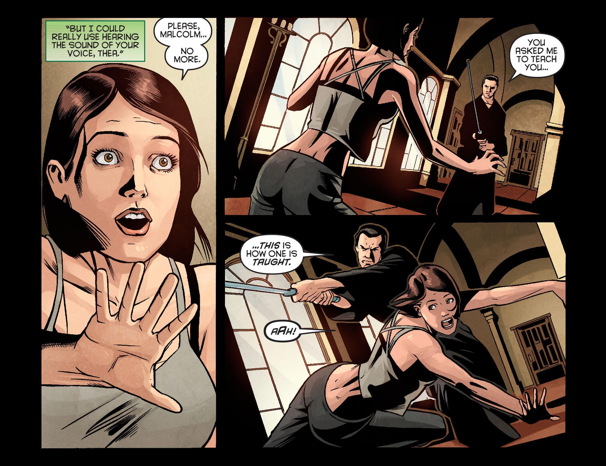 Read online Arrow: Season 2.5 [I] comic -  Issue #9 - 9