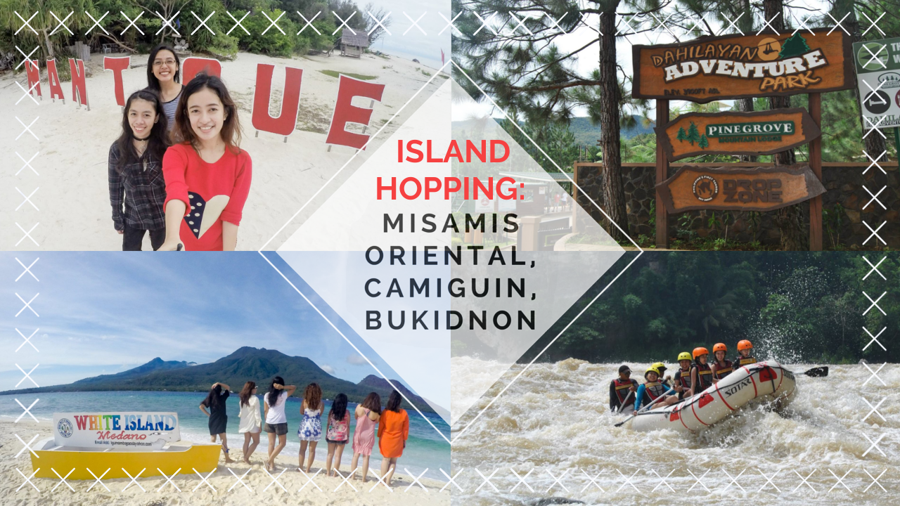 Rafting at Cagayan de Oro, Dahilayan Adventure Park, Mantigue Island, White Island Camiguin