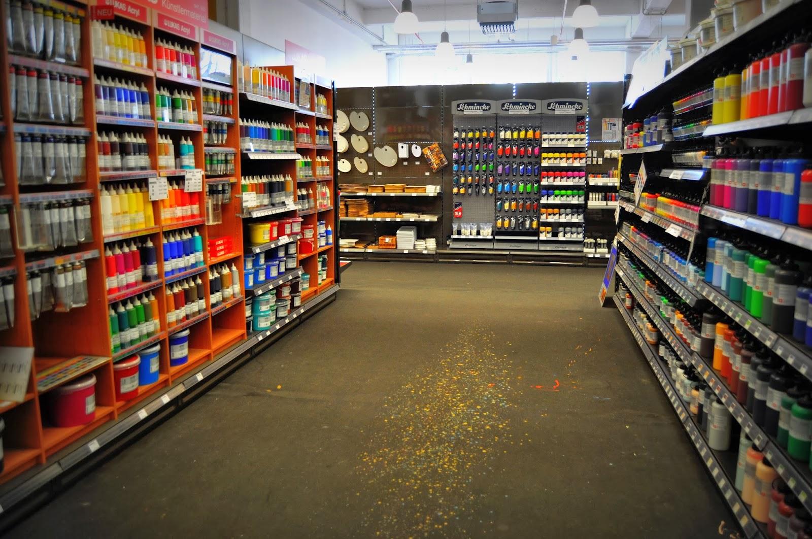 Stationery Store Series: Boesner Of Dusseldorf