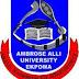 Ambrose Alli University (AAU), Ekpoma 2016/2017 Post-UTME Admission Screening Form Ends Tommorrow