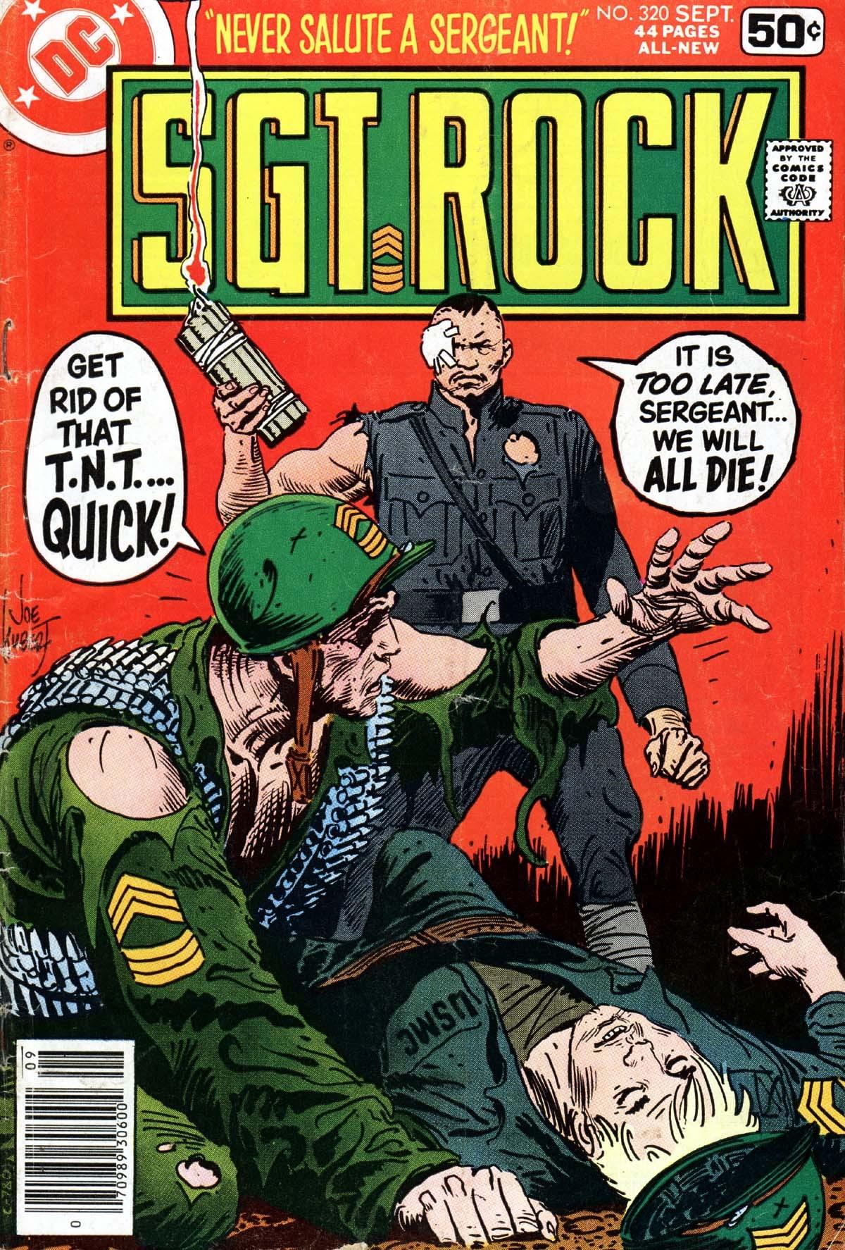 Read online Sgt. Rock comic -  Issue #320 - 1