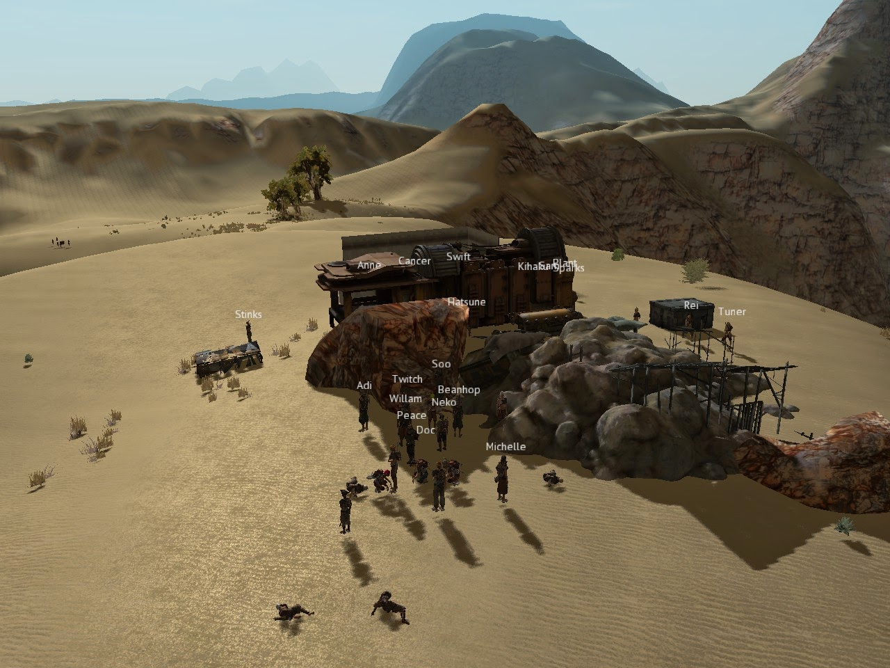 That's interesting   : Settling down in Kenshi