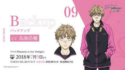 Kousuke Toriumi como Backup