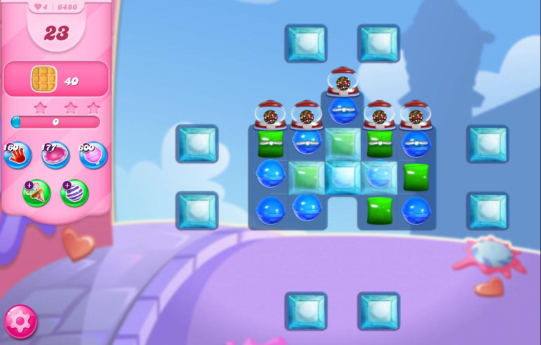 Candy Crush Saga level 6486
