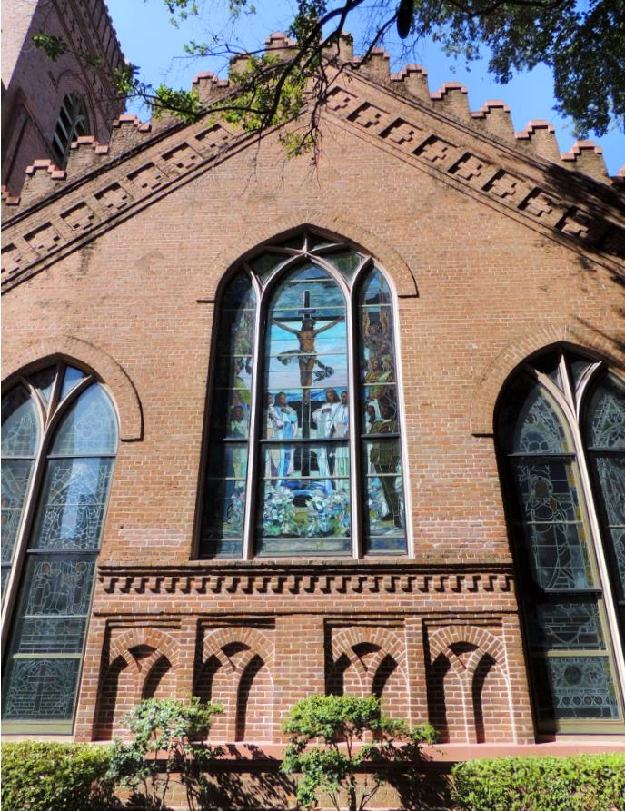 Facade of Christ Church Cathedral (Episcopalian)