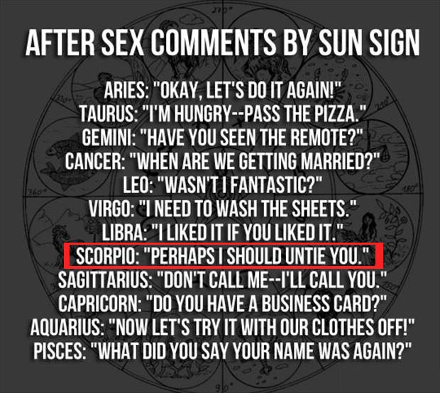 What Does My Zodiac Sign Say About Me Sexually