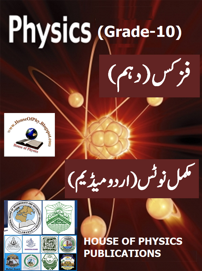 10th Class Physics Notes (URDU MEDIUM), Solved Question