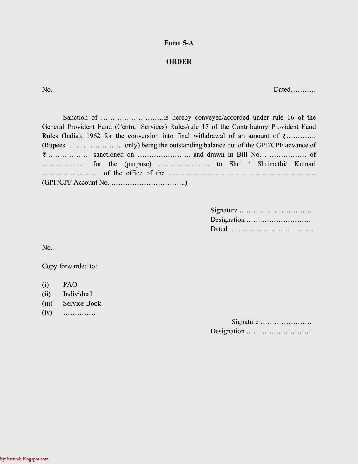 discharge form of lic of india