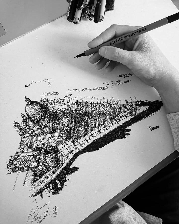 03-Fast-sketch-Venice-GF-Cangelosi-www-designstack-co